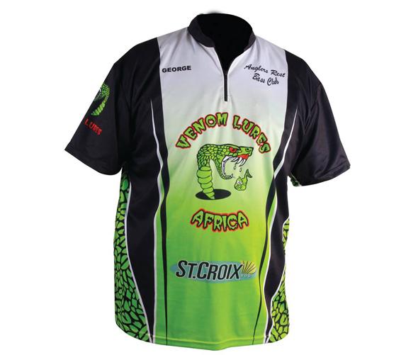venom logo fishing shirt venom lures africavenom lures